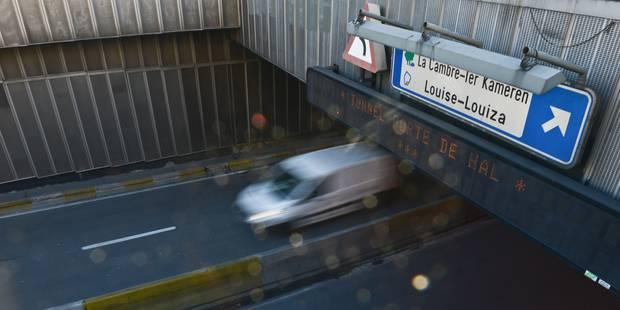 Touring déplore l'absence de mesures pour pallier la fermeture du tunnel porte de Hal - La Libre