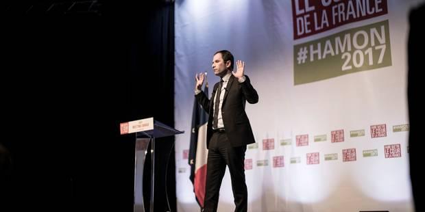 A Arras, le socialiste Benoit Hamon surfe sur l'écologie (VIDEO) - La Libre