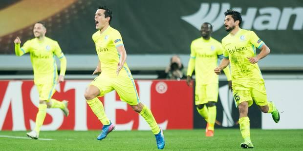Héroïque, Gand élimine Tottenham à Wembley et file en 8e de finale (2-2) - La Libre
