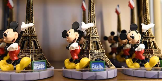 L'action Euro Disney? Des montagnes russes et? un grand plongeon (INFOGRAPHIE) - La Libre