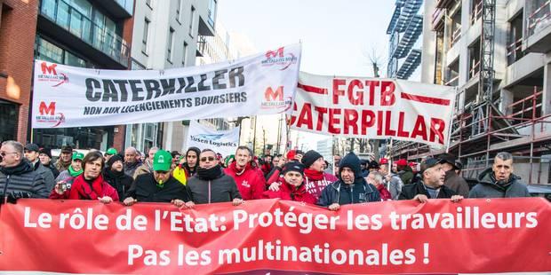 Caterpillar : négociations au finish entre les syndicats employés et la direction - La Libre