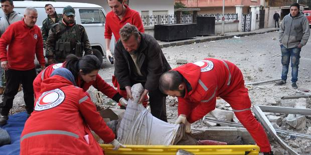 Des attentats contre la Sécurité à Homs, en Syrie, font 42 morts, dont le Chef des Renseignements militaires - La Libre