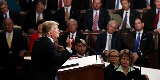 """Immigration, Obamacare, investissements : Donald Trump précise et détaille son """"America First"""" devant le Congrès (discou..."""