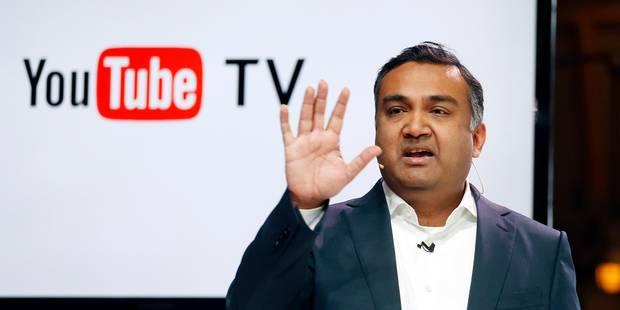 YouTube va lancer aux USA un service de télévision en ligne rivalisant avec le câble - La Libre