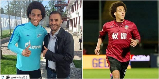 """Cannavaro, le coach de Witsel en Chine: """"J'ai parlé à Mertens et j'ai dit non à Fellaini"""" - La Libre"""