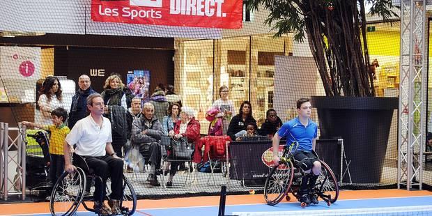 Le tennis fait son shopping à Woluwe - La Libre