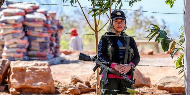 Les guérilleros des Farc commencent le désarmement - La Libre