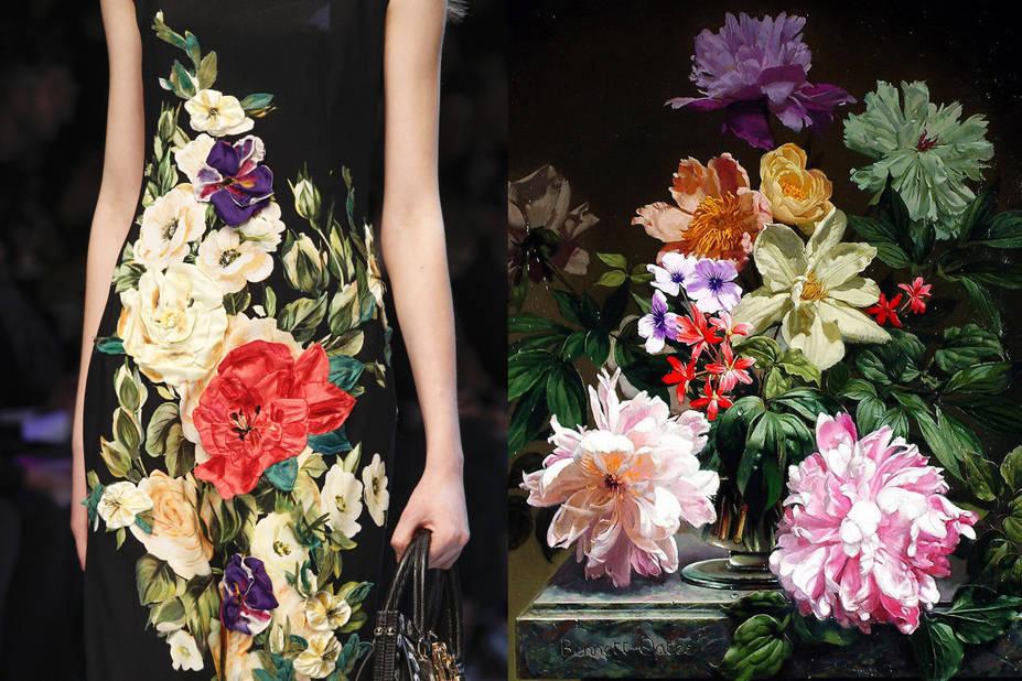 Dolce & Gabbana Automne 2016 -  Still Life With Flowers, Bennett Oates