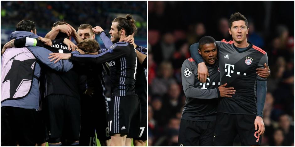 Ligue des Champions: Le Real se qualifie face à un vaillant Naples (1-3), le Bayern atomise encore une fois Arsenal (1-5)