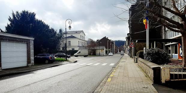 Pour plus de sécurité chaussée de Liège - La Libre