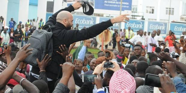 Les supporters du TP Mazembe ont réservé un accueil triomphal à Vanden Borre (VIDEOS & PHOTOS) - La Libre