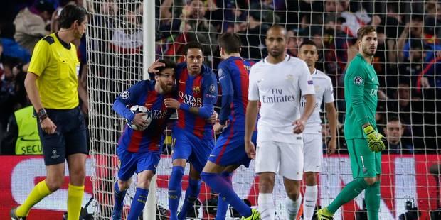 Historique! Le Barça réalise l'exploit, en claque 6 au PSG et se qualifie (6-1) - La Libre