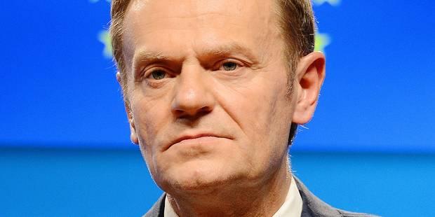 Mandat de Donald Tusk: le Conseil européen n'en fera qu'à sa tête - La Libre
