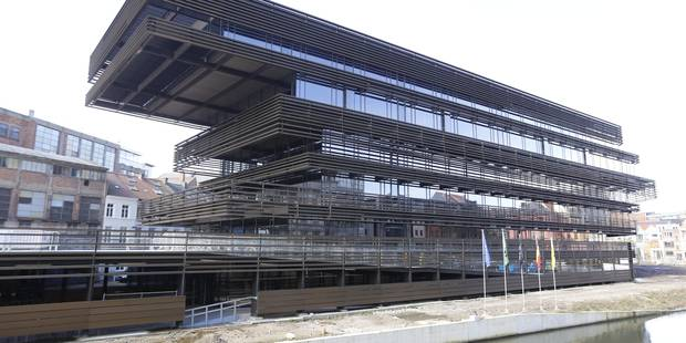 Gand se dote d'une bibliothèque du XXIe siècle - La Libre