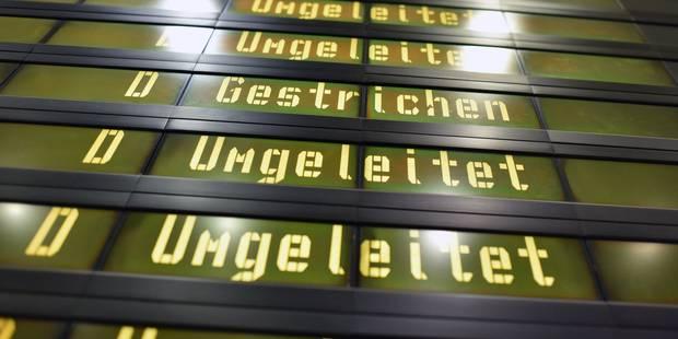 Presque tous les vols annulés depuis et vers Berlin en raison de la grève du personnel - La Libre