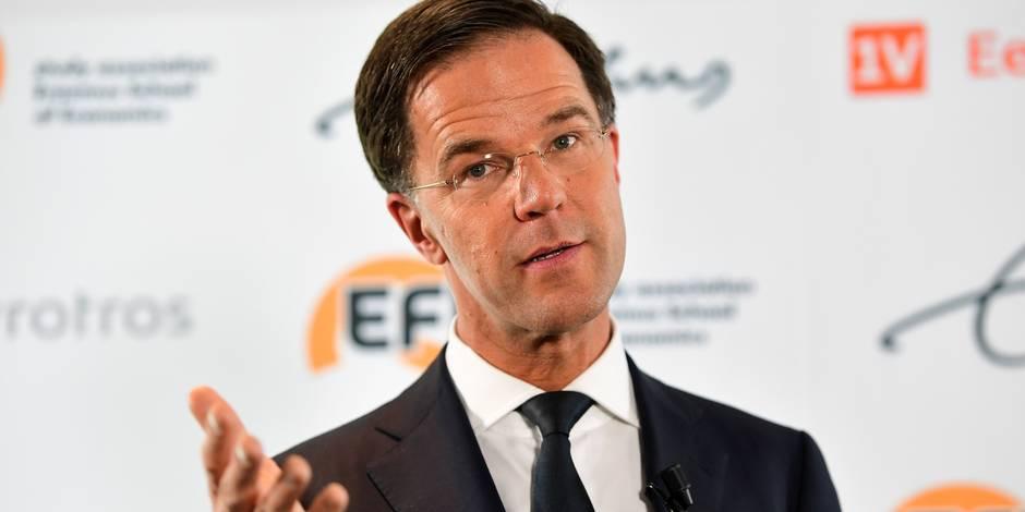 """Mark Rutte : les Pays-Bas doivent être les premiers en Europe à arrêter le """"mauvais populisme"""""""