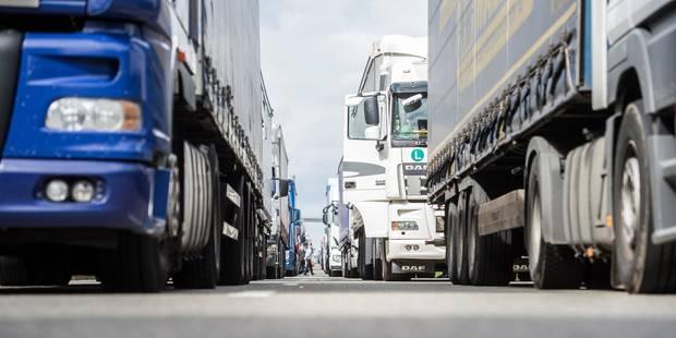 Soupçons de fraude sociale : Vague de contrôles policiers dans le secteur du transport routier - La Libre