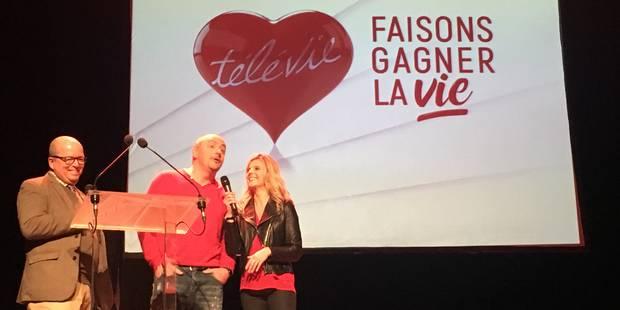 Jean-Louis Lahaye et Caroline Fontenoy dansent pour le Télévie - La Libre