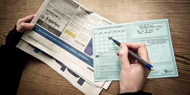 Le chômage complet indemnisé est au plus bas depuis 25 ans (INFOGRAPHIE) - La Libre