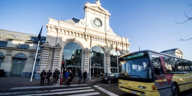 Alerte à la bombe levée à la gare de Namur - La Libre