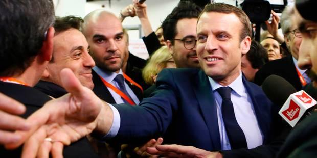 Sondage 'Présidentielle française': Macron se rapproche de Le Pen et distance Fillon - La Libre