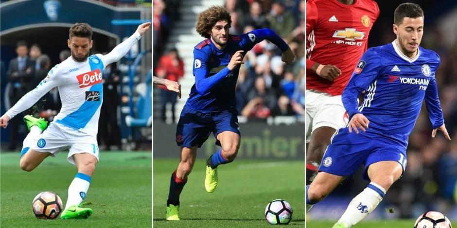Diables rouges: Hazard blessé, Mertens et Fellaini marquent (VIDEO)