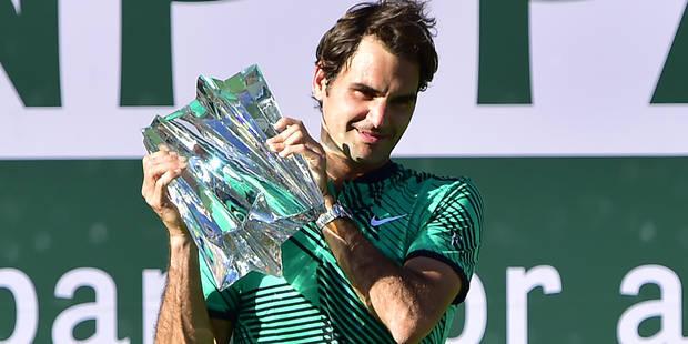 """Au classement """"Race"""", Federer est numéro 1 mondial, Goffin 8e, Djokovic 18e - La Libre"""