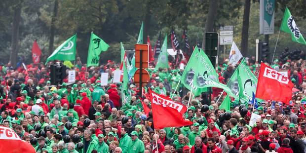Non-marchand: la manifestation a rassemblé 14.000 personnes à Bruxelles, selon la police (CARTE) - La Libre