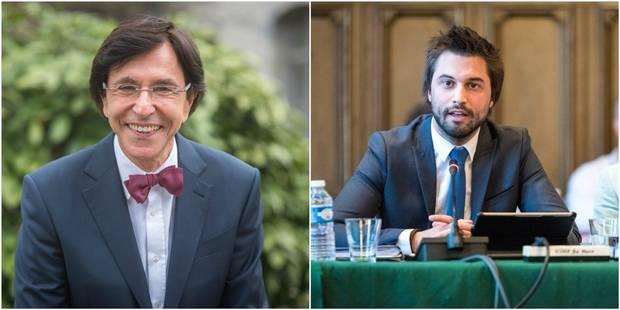 """Bouchez accuse Di Rupo de délaisser Mons """"pour aller voir Benoît Hamon"""", le président du PS lui répond - La Libre"""