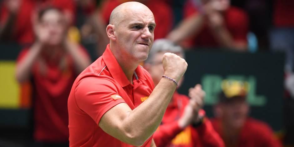 """Johan Van Herck préface la Coupe Davis: """"L'Italie nous ressemble"""""""