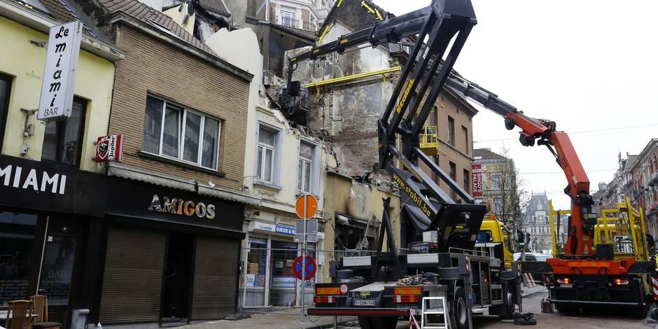 Explosion à Saint-Gilles: deux maisons seront démolies de lundi à vendredi prochains, des déviations sont prévues