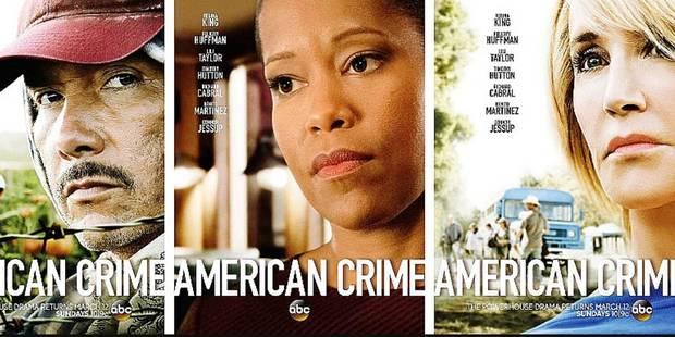 """""""American Crime"""" (saison 3): un autre regard sur l'Amérique - La Libre"""