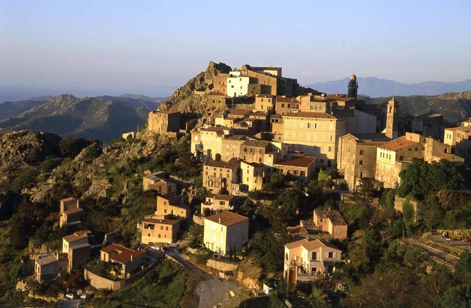Perché en Balagne, le petit village de Speloncato