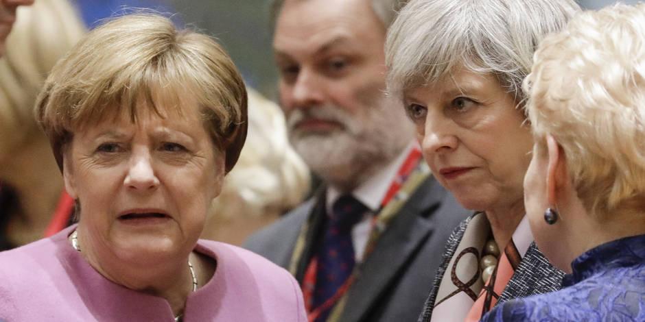 Brexit: Angela Merkel rejette la demande de Theresa May de négociations parallèles
