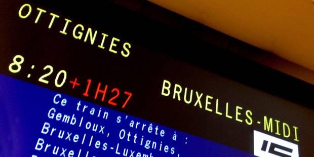 Le trafic ferroviaire rétabli entre Bruxelles-Nord et Bruxelles-Luxembourg - La Libre