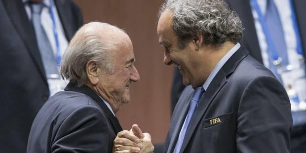 """Platini balance du lourd sur Sepp Blatter: """"Il a toujours dit que je serais son dernier scalp"""" - La Libre"""