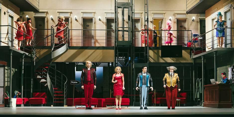 L'Opéra royal de Wallonie passe de Jérusalem à Tel Aviv - La Libre