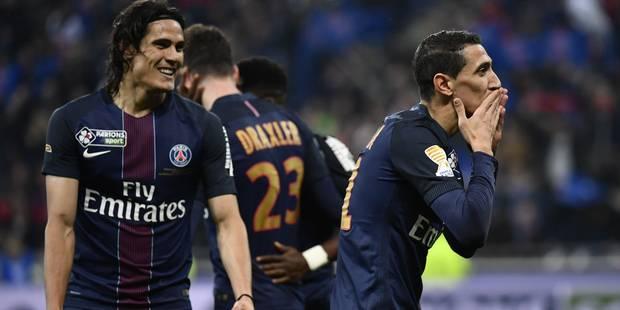 Le PSG écrase Monaco (1-4) et remporte la Coupe de la Ligue (VIDEOS) - La Libre