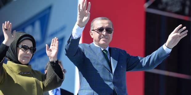 """Nouvelle sortie d'Erdogan à deux semaines du référendum turc: """"L'UE est une alliance des croisés"""" - La Libre"""