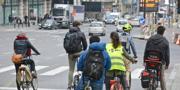 Plus de 700 cyclistes ont été blessés en 2016 à Bruxelles - La Libre