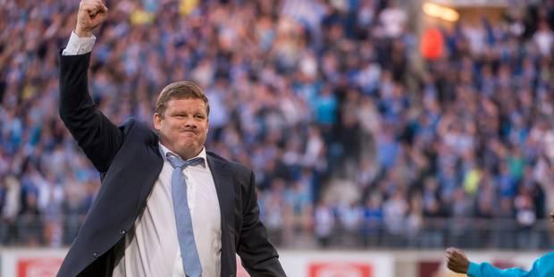 La Gantoise va casser sa tirelire pour Vanhaezebrouck: il va devenir le coach le mieux payé du pays ! - La Libre