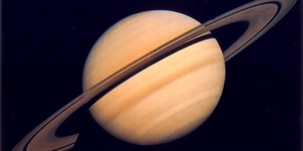 La sonde Cassini se prépare à un grand plongeon sur Saturne - La Libre