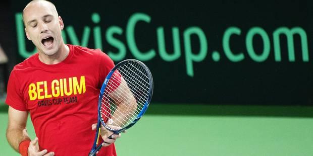"""Steve Darcis avant Belgique-Italie en Coupe Davis: """"J'ai eu peur mais désormais tout va bien !"""" (VIDEO) - La Libre"""