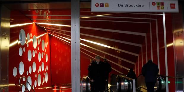 Un trentenaire poignardé à la jambe aux abords de la station de métro de Brouckère - La Libre