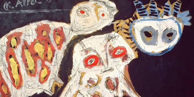 Les fêtes de Karel Appel, figure de proue de Cobra - La Libre