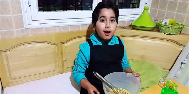 Omar Archane, handicapé, chef cuisinier à 11 ans - La Libre