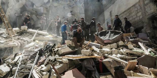 """Le régime syrien affirme qu'il """"n'a pas utilisé et n'utilisera jamais"""" l'arme chimique - La Libre"""