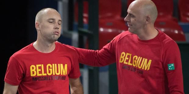 """Johan Van Herck, le capitaine belge avant la Coupe Davis: """"Il faudra être très fort pour nous battre"""" - La Libre"""
