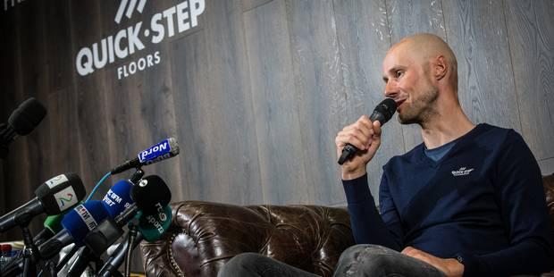 """Boonen : """"Lundi, j'aurai sans aucun doute la plus grande gueule de bois de ma carrière""""(VIDEO) - La Libre"""