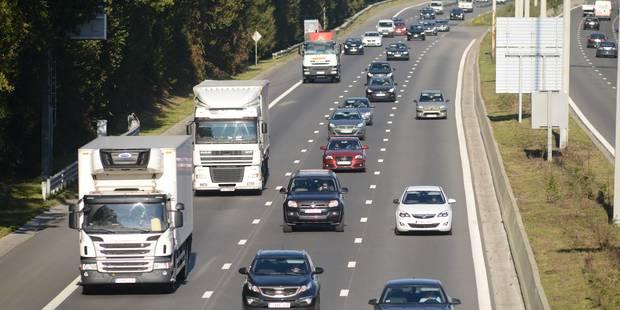 Le conducteur belge, champion européen du dépassement par la droite sur autoroute - La Libre